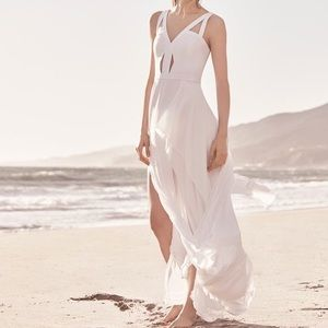 NWOT BCBGMaxAzria Cutout White Dress